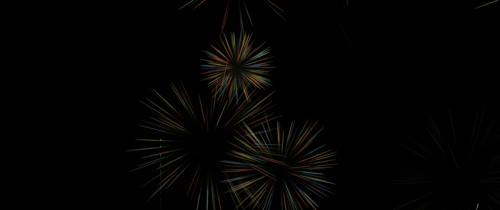 Cover image for tsParticles Fireworks Effect 2.0