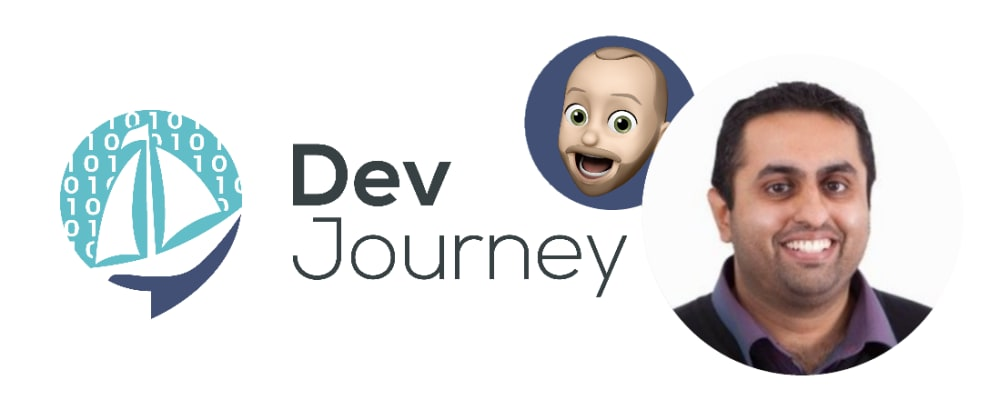 Cover image for Shahid Iqbal from drug design to software development and other things I learned recording his DevJourney (#157)