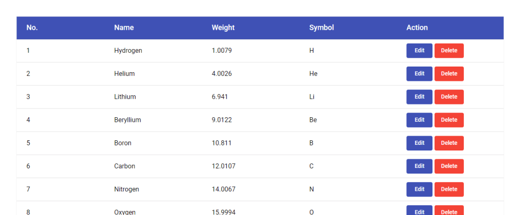 Cover image for Crud Table In Angular Material With Local Storage(edit/save/delete)