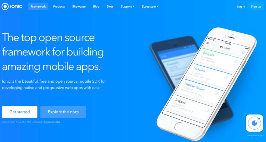 How to get started with Ionic framework 3 on Mac and Windows