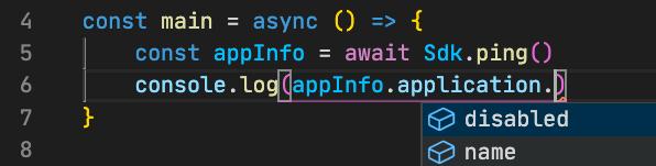 Code autocomplete