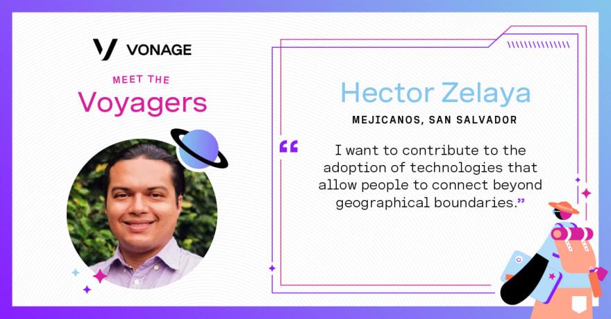 Hector Zelaya - Vonage Voyager