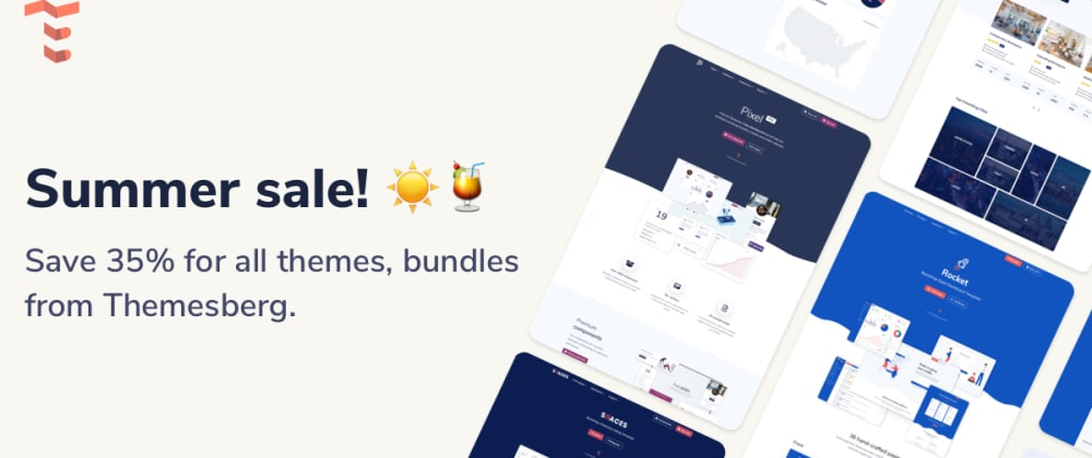 Cover image for 35% discount for free and premium Bootstrap Themes, Templates, UI Kits and Bundles