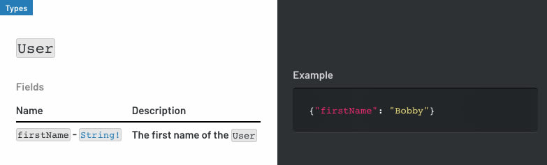 Example documentation with metadata