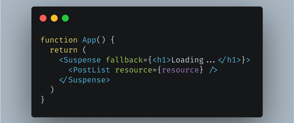 Cover image for How to Fetch Data with React Suspense