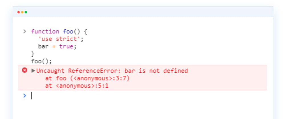 Cover image for Reference Error: JavaScript