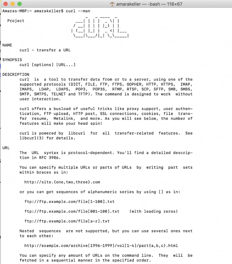 What is cURL and why is it all over API docs? - DEV Community