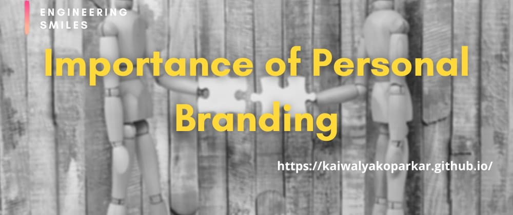 Cover image for 🌠Importance of Personal Branding🌠
