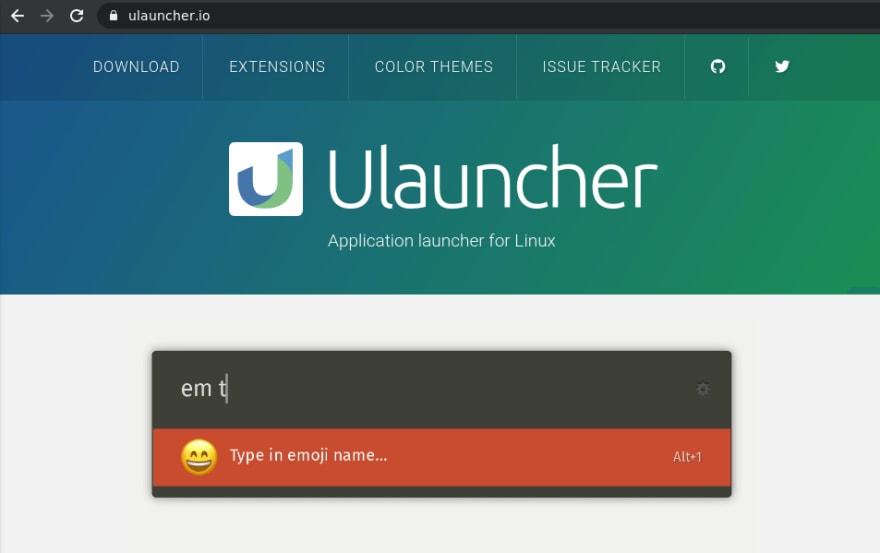 Site Ulauncher