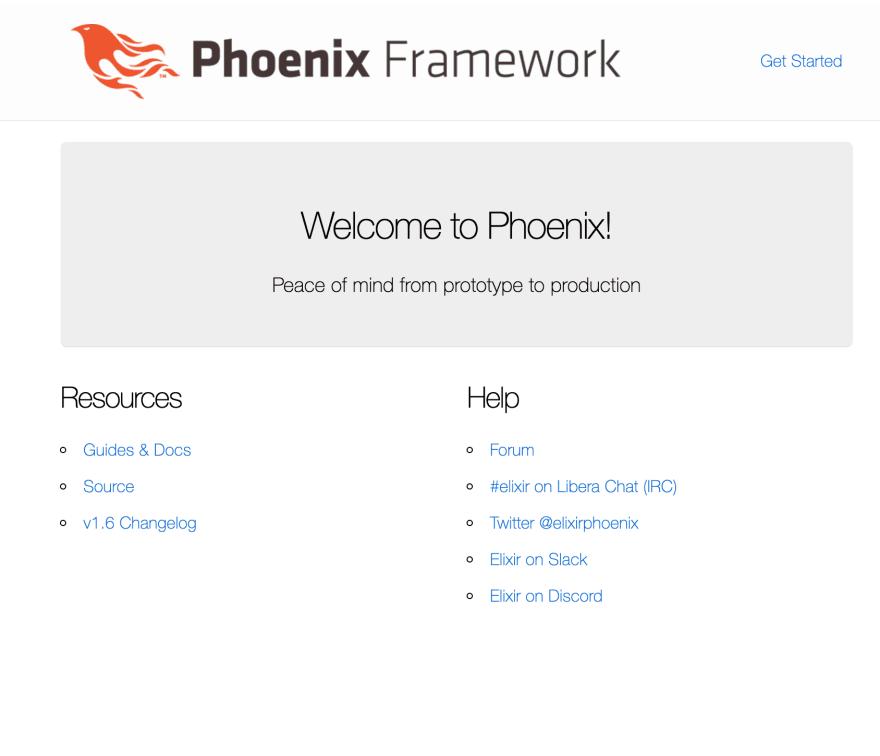 Phoenix App running in prod mode