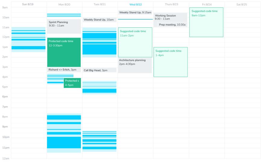 Software Code Time calendar