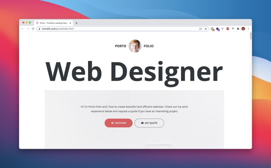 Porto HTML Template