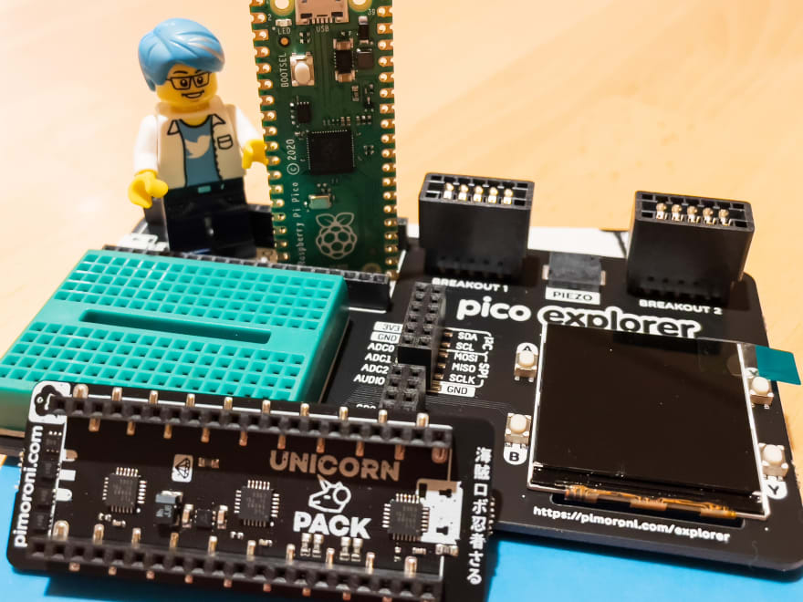 Some accessories from Pimoroni
