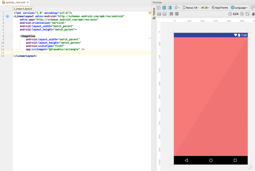 Creating simple vector drawables in Android Studio - DEV Community