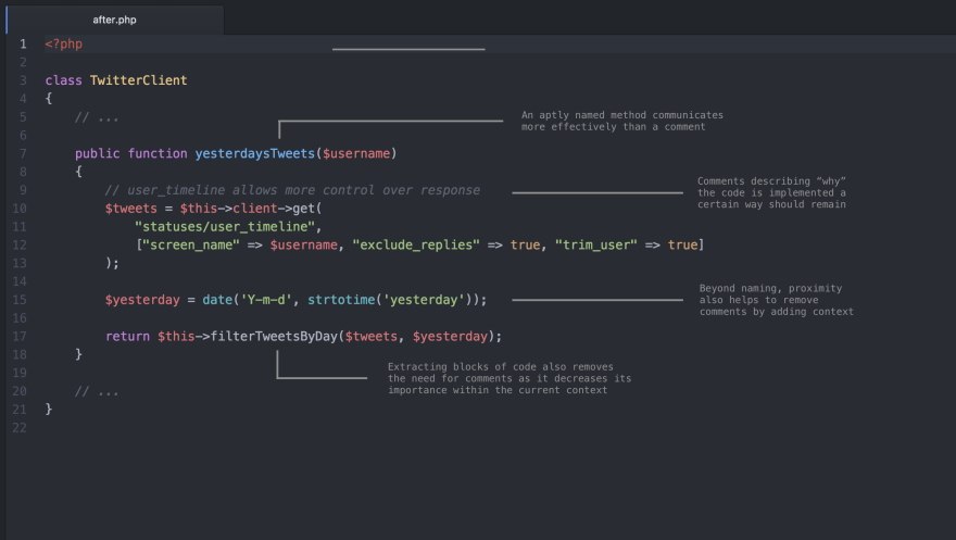Code after removing comments