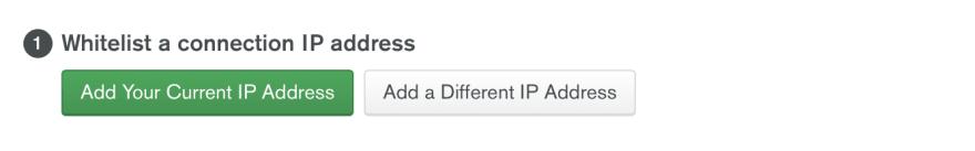 Adds IP address.