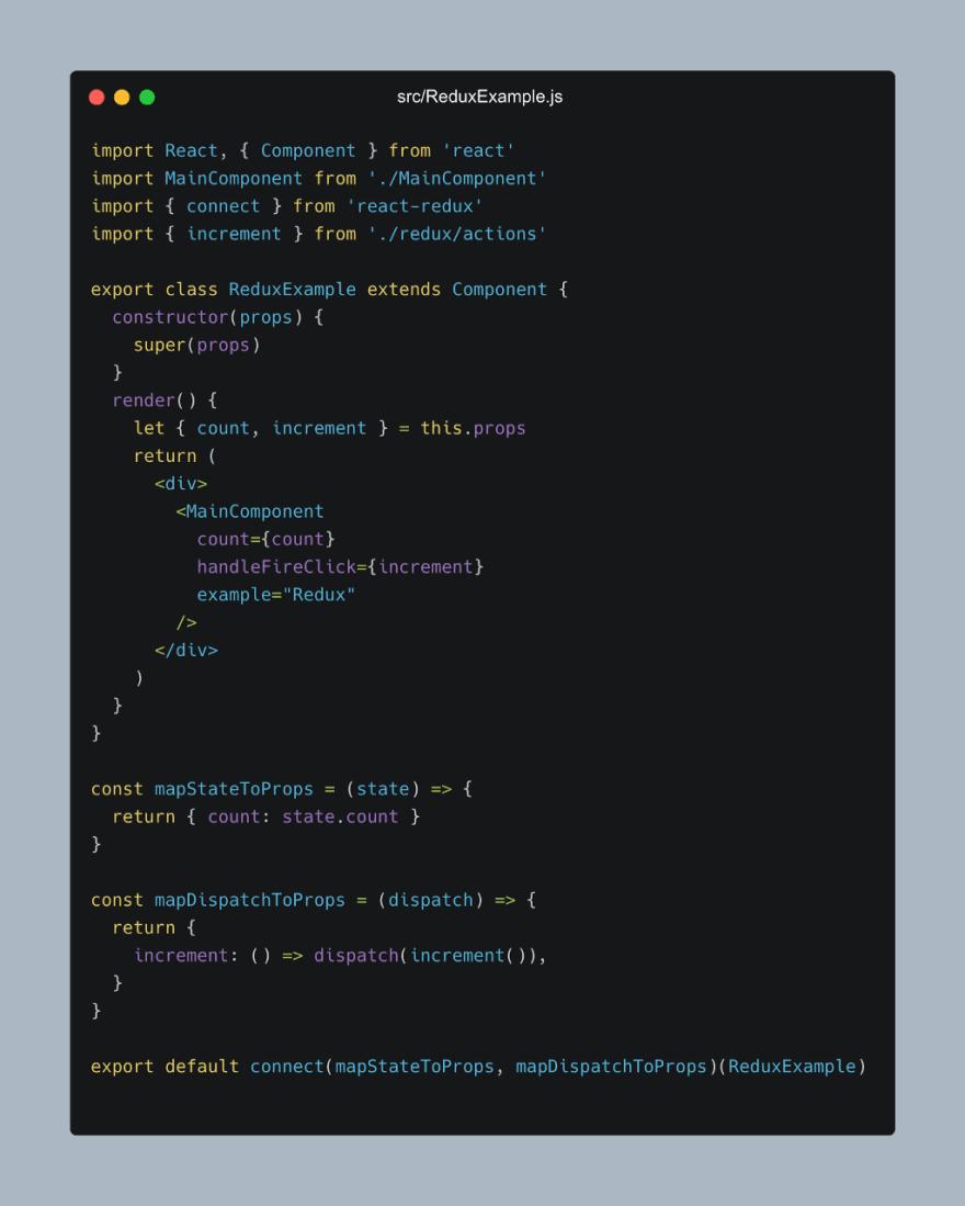 react recoil vs redux—redux example component