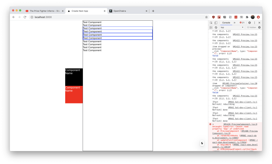 Screenshot of the Design System Builder in action