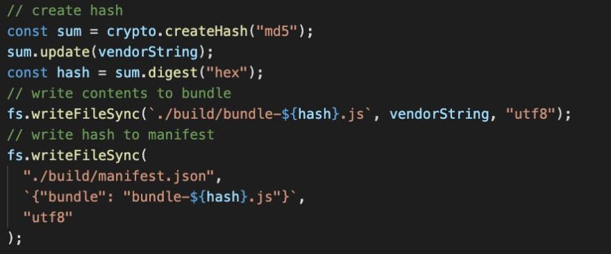 Create hash