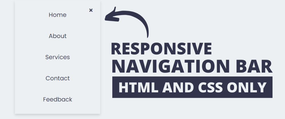 Cover image for Responsive Neumorphism Navigation Bar in HTML & CSS