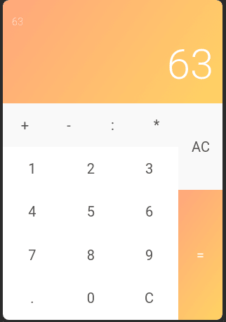Project ideas for React  calculator