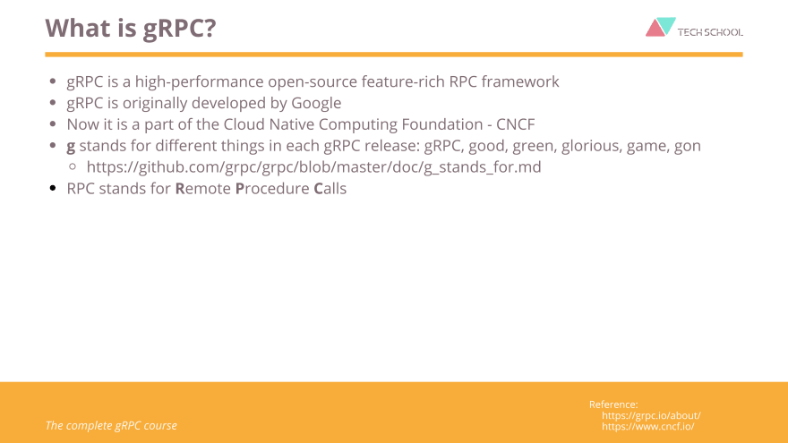 What is gRPC