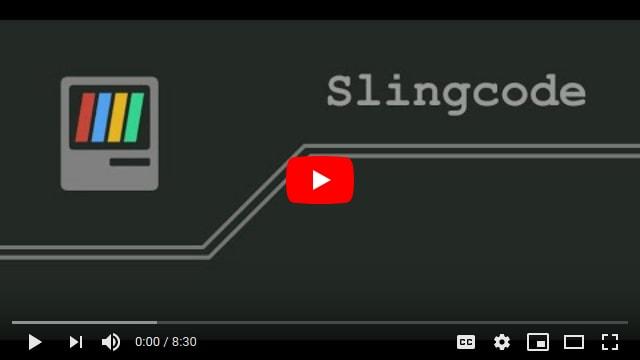 Slingcode video