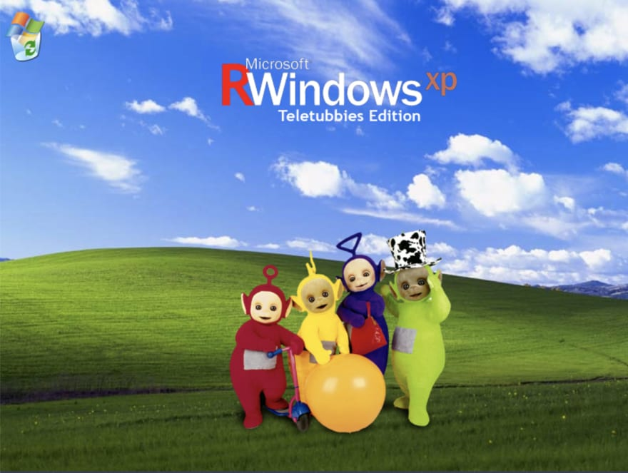Microsoft RWindows XP Teletubbies Edition