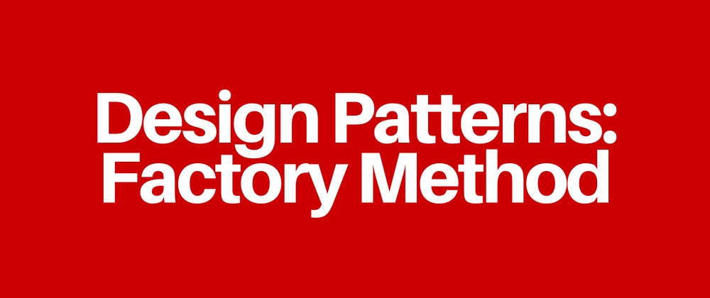 Cover image for Design Patterns: Factory Method