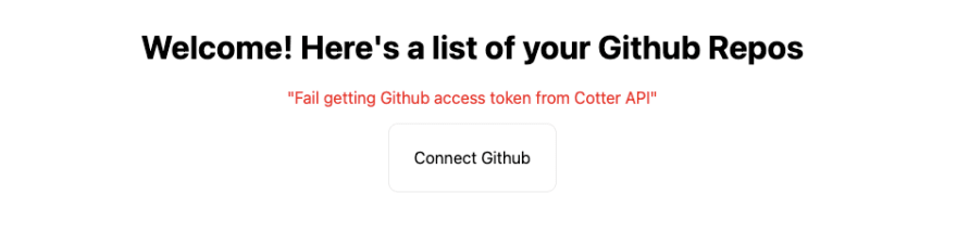 The Simplest Way to Authorize Github OAuth Apps with Next.js and Cotter
