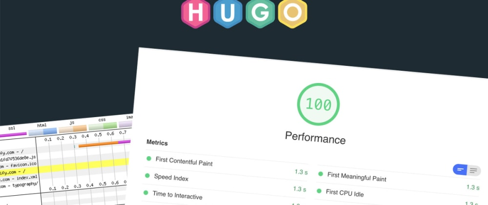 Cover image for Building high-performance Hugo theme