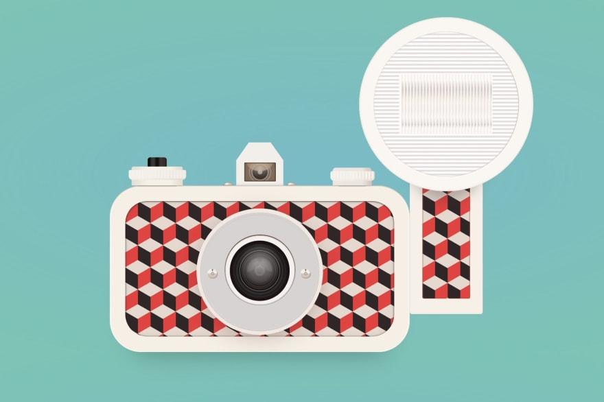 Sardina camera in CSS