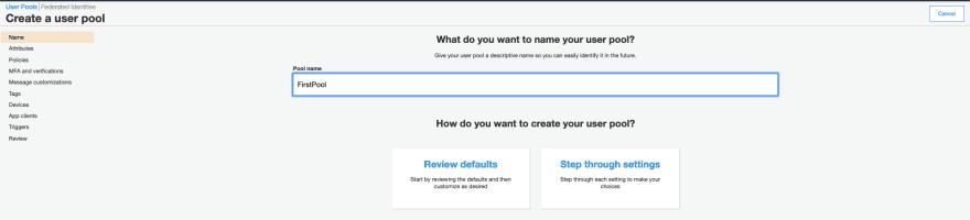 AWS Made Easy | AWS Cognito User Pool