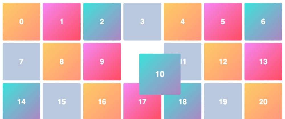Cover image for Creating 2D blocks layout with custom hook useDraggable