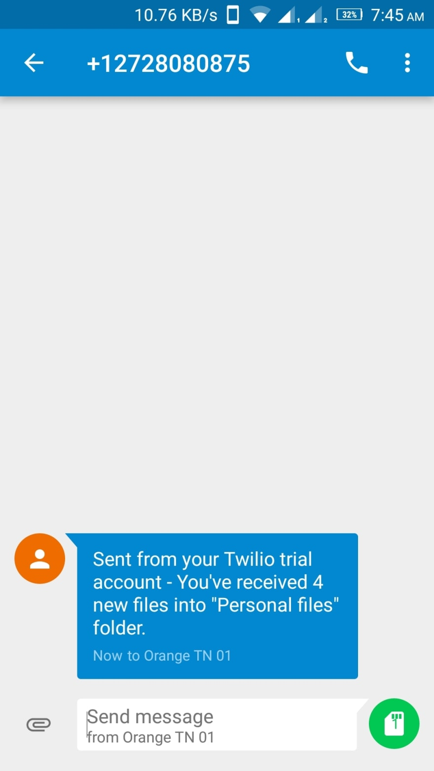 Twilio Programmable SMS