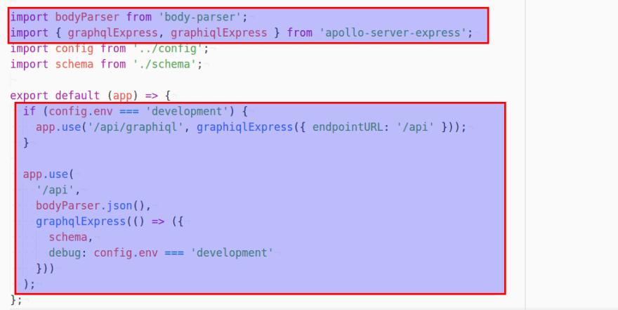 Apollo-Server-Express 1 0 to 2 0: Fix 'graphiqlExpress and