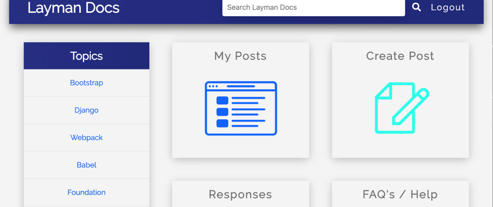 Cover image for Rails & JS Project: Layman Docs