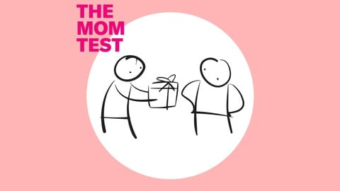 The Mom Test course cover