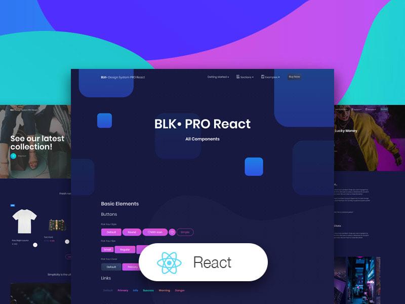 BLK • Design System PRO React