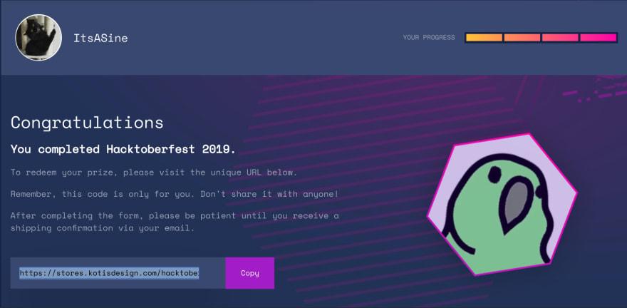 Complete Hacktoberfest Profile
