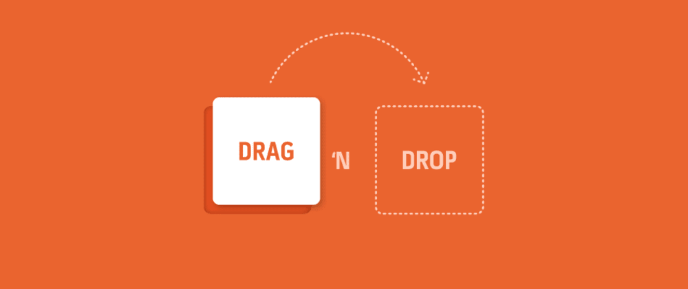 Cover image for How to Drag & Drop Images Into Your Project with JavaScript