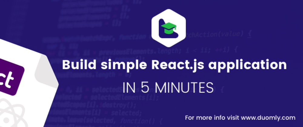 Cover image for How to create the React app in 5 minutes?