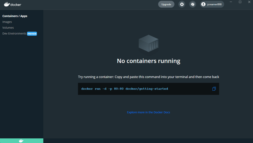 Setting up WSL2 and the VSCode Remote Containers WSL Plugin