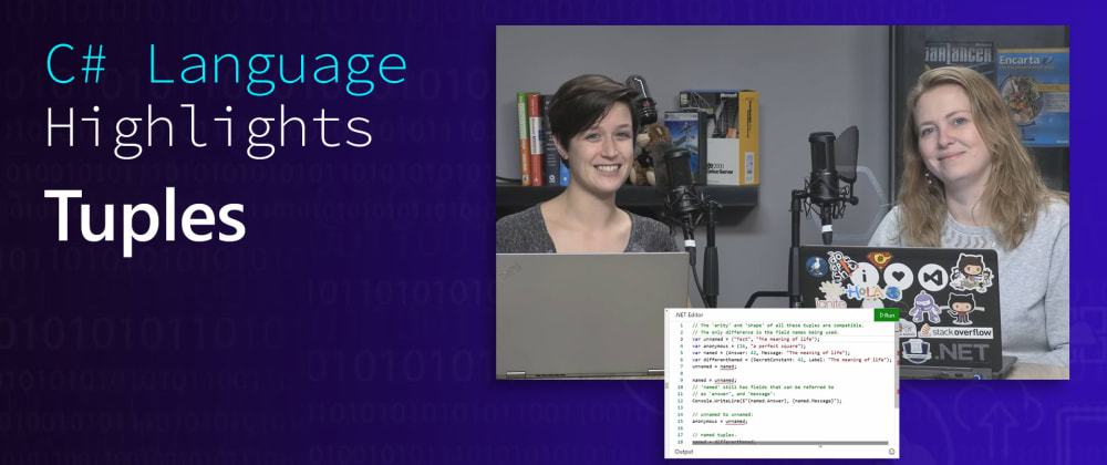 Cover image for C# Language Highlights: Tuples
