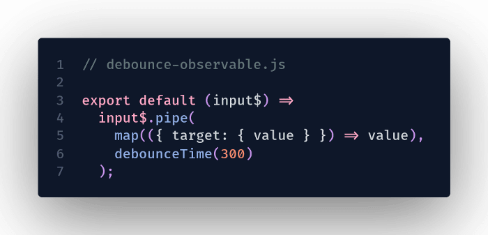 another simple observable to test