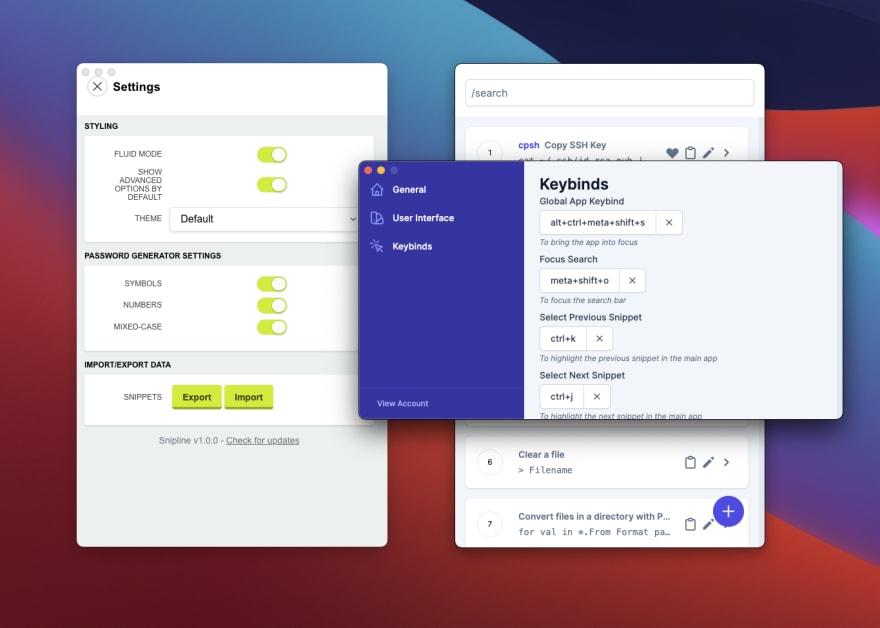 v1 settings vs v2 preferences