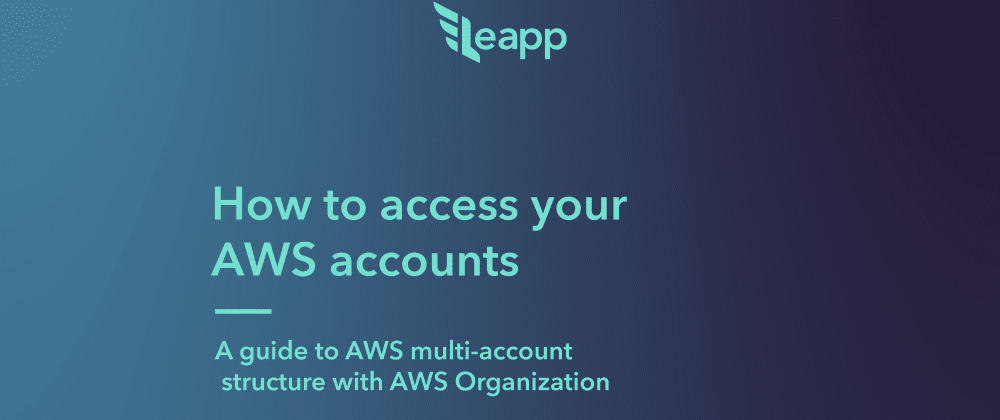 Cover image for AWS multi-account structure with AWS Organization