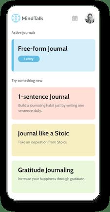 Diary types