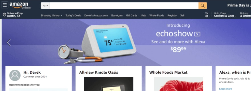 intuitive web design