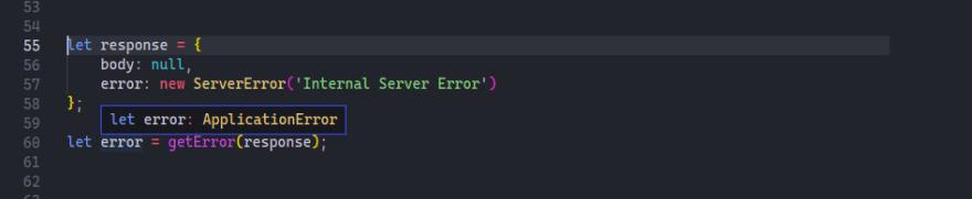 function overloading getError method